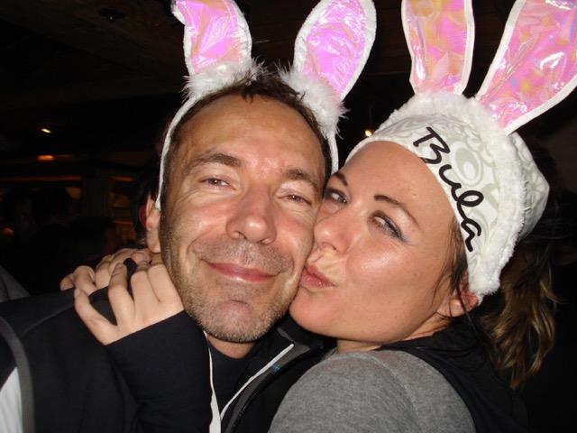 Die zwei Bunnys Kati und Hans.