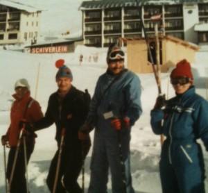 Skifahren Erika Jolk