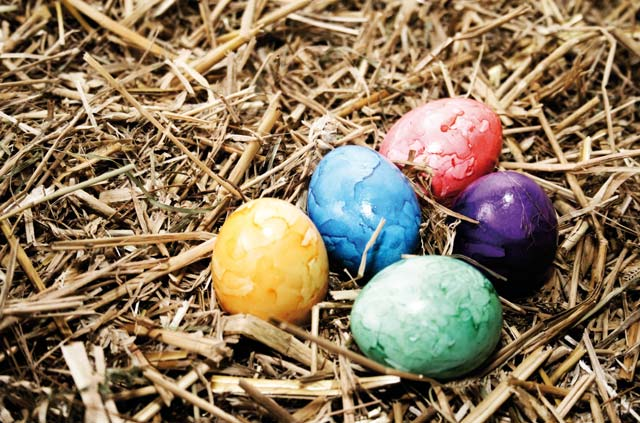 Ob das hier Antlass-Eier sind? Ich weiß es nicht. Aber ein gutes Ei schmeckt ohnehin immer gut zu Ostern!
