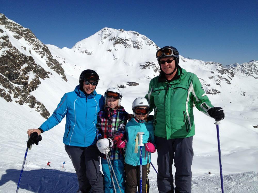 Familie Kottbusch am Seekareck.