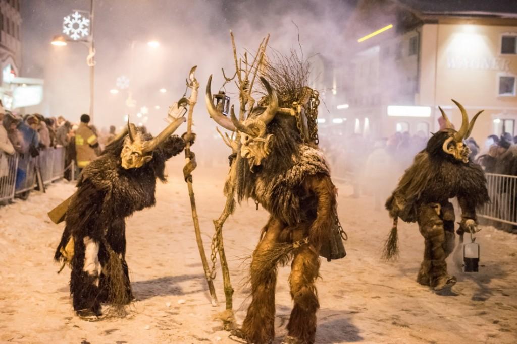Fixer Bestandteil eines jeden Obertauern Events: teuflisch gute Stimmung! Ganz besonders, wenn die Krampusse in Obertauern feiern.