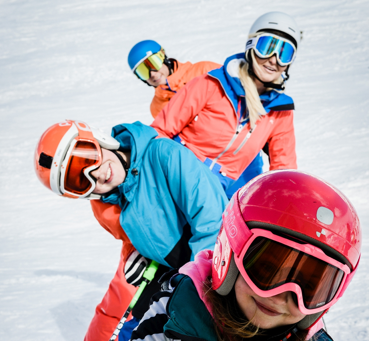Skifahren muss den Kindern Spass machen, dann freuen sich auch die Eltern.