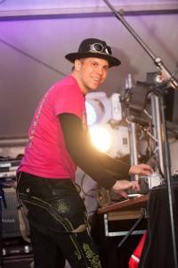 DJ Matty Valentino beim Warm Up