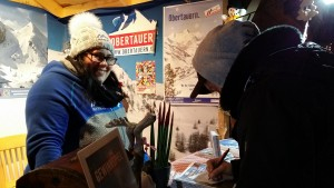 Auch bei diversen Gewinnspielen können die Besucher des Obertauern-Standes ihr Glück versuchen.