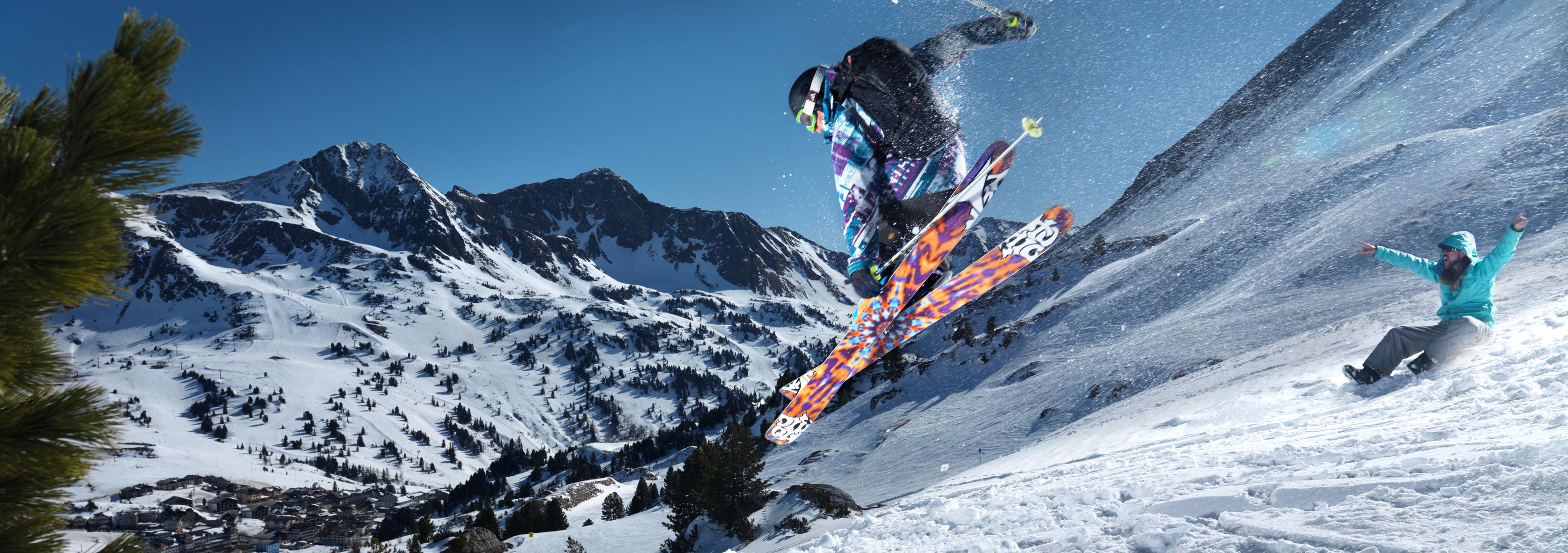 Winterzeit in Obertauern: Die Bretter, welche die Winterwelt bedeuten. Je nach sportlichen Vorlieben und Ansprüchen gibt es Modelle für alle Schräglagen.