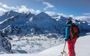 Die Skiroute Hundskogel
